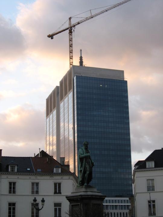 l'hiver à Bruxelles